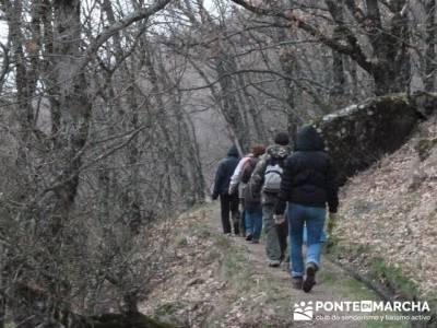 El Valle del Ambroz y la Judería de Hervás - Hervás PR-CC 36 La Chorrera;senderismo sierra norte